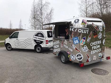 Espoon oman panimon myymäläauto ajaa ensimmäisen kierroksensa torstaina 30. huhtikuuta.