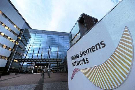 Nokia Siemens Networksin pääkonttori Espoon Karamportissa. Yhtiön Espoon yksikössä työskentelee noin 3000 henkilöä.