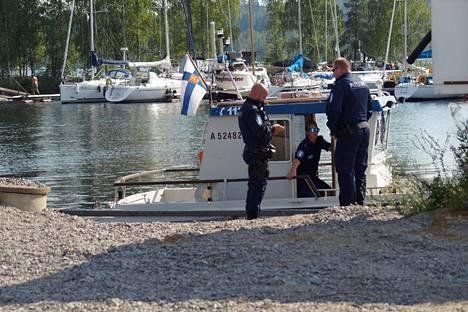 Anni Törnin ruumista etsittiin heinäkuussa Savonlinnan Laitaatsalmessa. Ruumis löytyi Pohjois-Karjalasta.