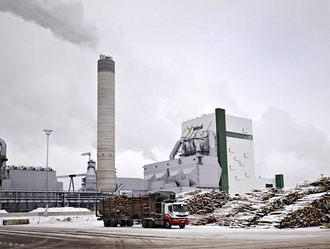 Metsä Groupin sellutehdas Äänekoskella on yksi maailman suurimmista.