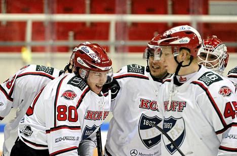 HIFK:n voittomaalin Turussa teki Thomas Nykopp (80).