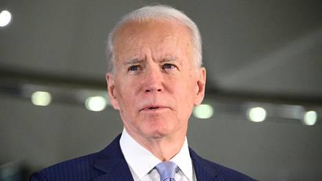 Joe Biden 10. maaliskuuta.
