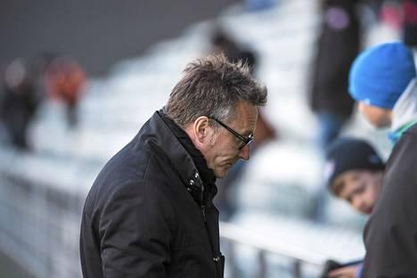 HJK:n päävalmentaja Sixten Boström