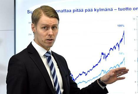 Nordean päästrategi Antti Saari.