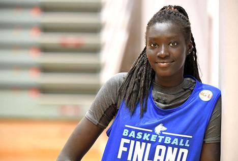 Awak Kuier tekee suomalaista koripallohistoriaa.