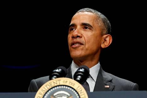 Yhdysvaltain presidentti Barack Obama ilmoitti perjantaina, että maa luopuu Keystone XL -öljyputken rakentamisesta Kanadasta Yhdysvaltoihin.