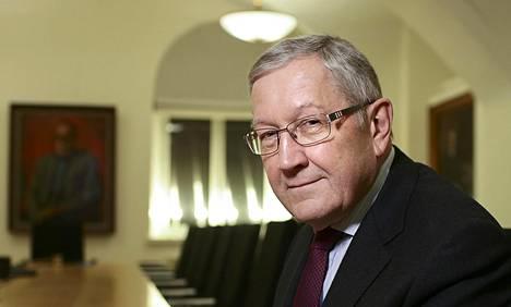 Euroopan vakausmekanismin toimitusjohtaja Klaus Regling vieraili Helsingissä torstaina ja perjantaina.