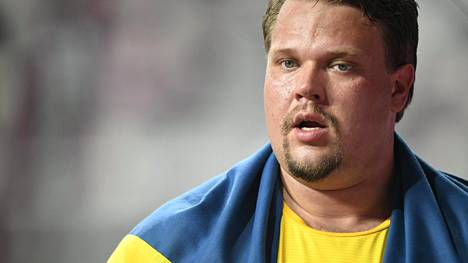 Daniel Ståhl voitti Qatarin MM-kisoissa syyskuussa 2019 kiekonheitossa kultaa.