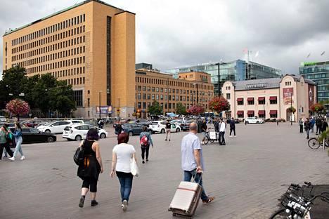 Helsingin Elielinaukiolle suunnitellaan massiivista lisärakentamista.