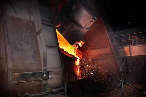 Metalliteollisuudessa tilaukset kasvoivat 30 prosenttia maaliskuussa.