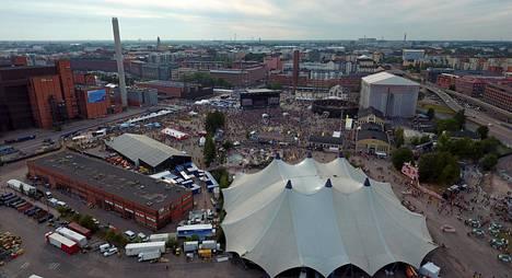 Kolmipäiväinen Flow-festivaali järjestettiin Helsingissä viikonloppuna.