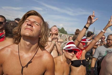 2011: Turun Ruisrockissa saatiin nauttia todella lämpimästä säästä.
