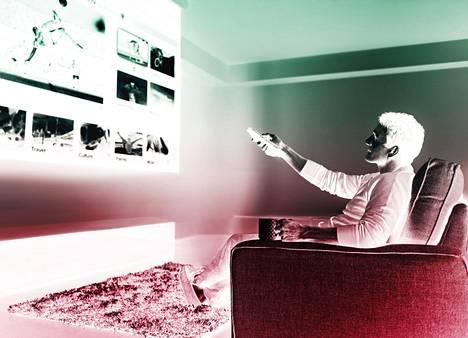 Älytelevisio on internet-yhteydellä varustettu televiso, jolla voi esimerkiksi selata musiikin ja videoiden suoratoistopalveluita tai sosiaalista mediaa.