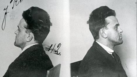 Oihonna-laivan hiilivarastossa piileskellyt John Reed pidätettiin 13. maaliskuuta 1920 Turun satamassa.