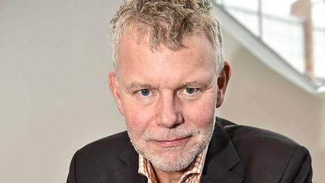 Arne Dahl vieraili Helsingin kirjamessuilla lokakuussa 2017.