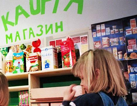 Helsingin Kaarelassa toimii venäjänkielinen päiväkoti Kalinka.
