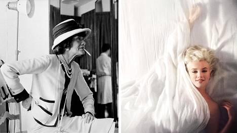 """Douglas Kirkland oli kuvaamassa Coco Chanelia, kun hän kuuli Marilyn Monroen kuolleen. """"Voi toista"""", kommentoi Chanel."""