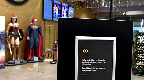 Elokuvateatterit pysyvät yhä suljettuina.