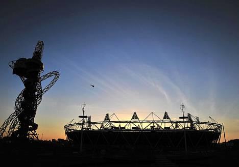 Uusi Olympiastadion on Lontoon kisojen päänäyttämö.