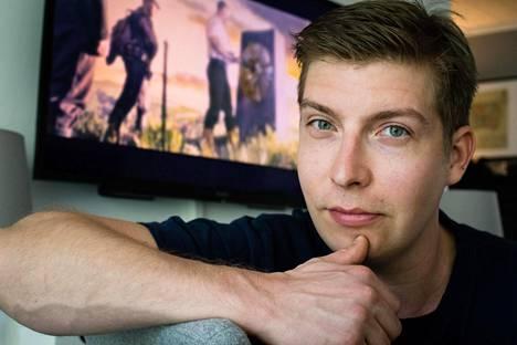 Iron Danger -pelin ja elokuvan keksijä ja kehittäjä Sami Timonen.