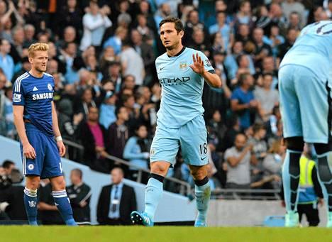 Frank Lampard ei tuulettanut maalia vanhaa seuraansa vastaan.