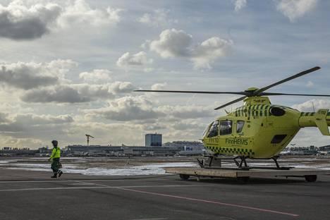 Pääkaupunkiseudulla lääkärihelikopterin tukikohta sijaitsee Helsinki-Vantaan lentokentän pohjoispuolella.