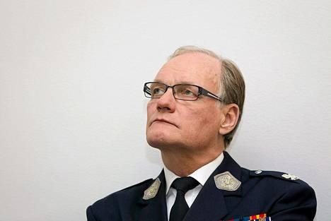 Poliisiylijohtaja Mikko Paatero