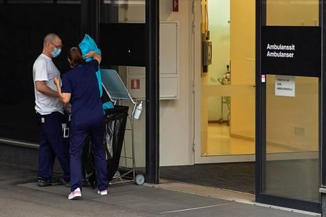 Hoitohenkilöstö on viime päivät työskennellyt poikkeuksellisessa tilanteessa.