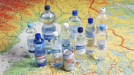 Enemmistö suomalaisista juo kesähelteellä hanavettä nestetasapainon säilyttämiseksi. Pullotettujen vesien menekki kuitenkin kasvaa.