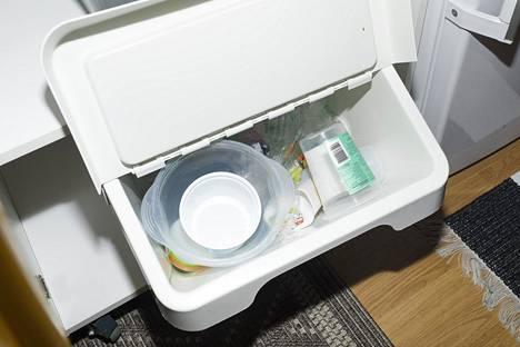 Muovipakkausten kierrätysaste Suomessa oli ympäristöministeriön mukaan 32 prosenttia vuonna 2018.
