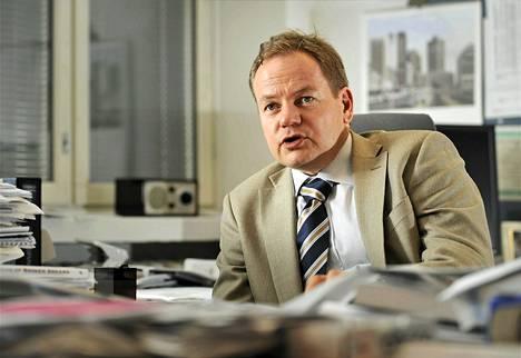 Vesa Puttonen ei ole kommentoinut mahdollista siirtymistään Talvivaaran johtoon.