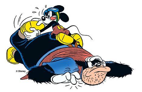 Mustalla Pekalla ja Mikillä on pitkä yhteinen historia toistensa vastustajina.