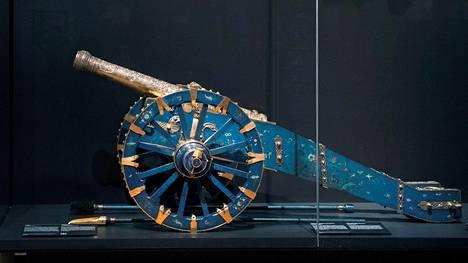 Hollannin Itä-Intian kauppakomppania ryösti Kandyn kanuunan Sri Lankan saarelta vuonna 1765.