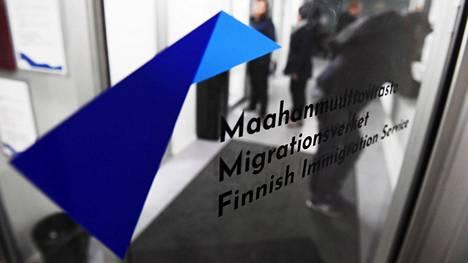 Maahanmuuttoviraston Helsingin-palvelu pisteessä kävi asiakkaita syksyllä 2019.