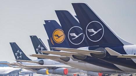 Lentoyhtiö Lufthansa on saanut koronakriisin takia Saksan valtiolta 9 miljardia euroa tukea. Lisäksi Lufthansa on saanut yli kahden miljardin euron tuet Belgian, Itävallan ja Sveitsin valtioilta.