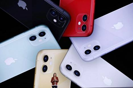Applen uusi puhelinmalli iPhone 11 on varustettu yhtiön aiempia puhelimia edistyksellisemmillä kameroilla.