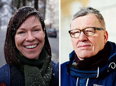 Anni Sinnemäki ja Hannu Penttilä