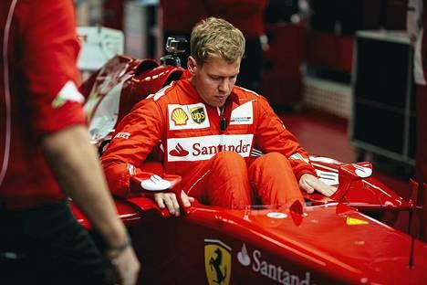 Sebastian Vettel testasi Ferrarin F2012-mallia Fioranossa marraskuun lopussa.