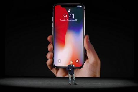 Uudessa Applen lippulaivapuhelimessa ei ole lainkaan fyysistä kotinäppäintä.