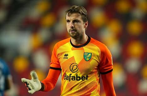 Norwich Cityn maalivahti Tim Krul on saanut koronavirustartunnan.