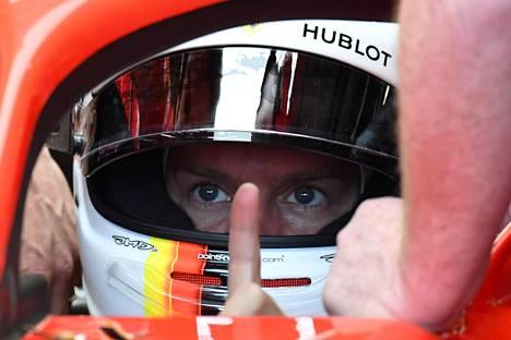 Sebastian Vettel oli kolmannen harjoitusjakson nopein.
