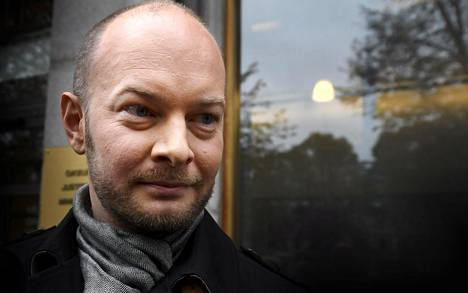 Sininen tulevaisuus -eduskuntaryhmän puheenjohtaja Sampo Terho.