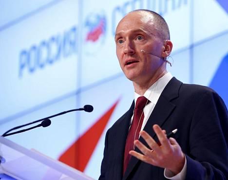 Trumpin kampanja-avustajana toiminut Carter Page on entinen investointipankkiiri ja Venäjä-asiantuntija.