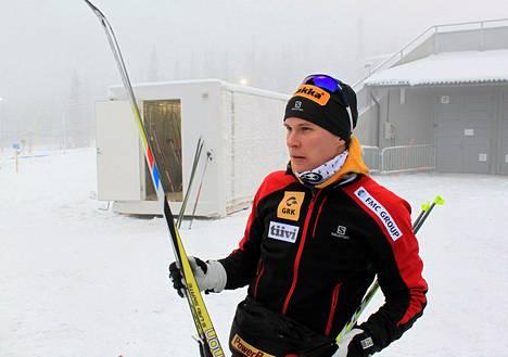 Matti Heikkinen oli toinen Oloksella kauden avauksessaan.