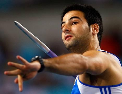 Yervasios Filippidis kilpaili viime syyskuussa yleisurheilun MM-kisoissa Daegussa Etelä-Koreassa.