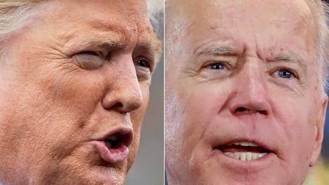 Donald Trump on republikaanien ja Joe Biden demokraattien ehdokas ensi syksynä Yhdysvaltojen presidentinvaaleissa.