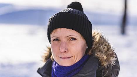 Kaisa Sali kuvattuna 22. helmikuuta 2020, jolloin puukotuksesta oli kolme viikkoa.