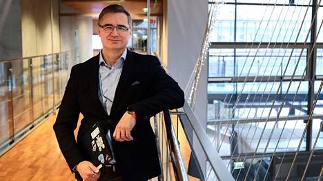 Tiedon turvallisuusjohtaja Jari Pirhonen sanoo, että teknologian kehittyessä tietoturva-alalla on vaikeuksia pysyä perässä.