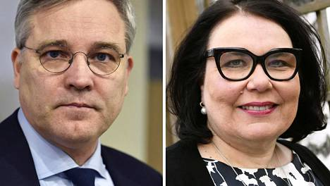 Mikael Pentikäinen ja Merja Ylä-Anttila