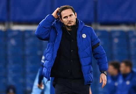 Chelsean päävalmentajan Frank Lampardin työpaikka on vaakalaudalla.